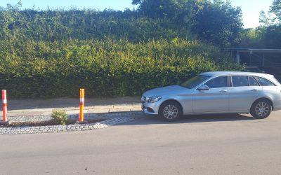 Uhensigtmæssig parkering